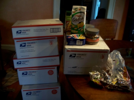 Carepackages.packed