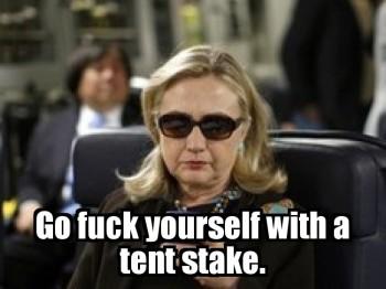 HillaryTextingFuckYourself