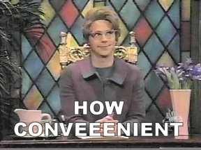 ChurchLadyHowConvenient
