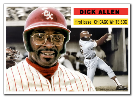 Topps Dick Allen White Sox