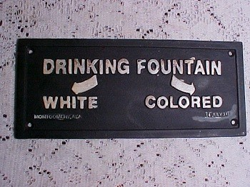 Jim Crow signs
