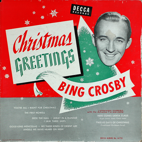 bing crosby christmas songs youtube playlist