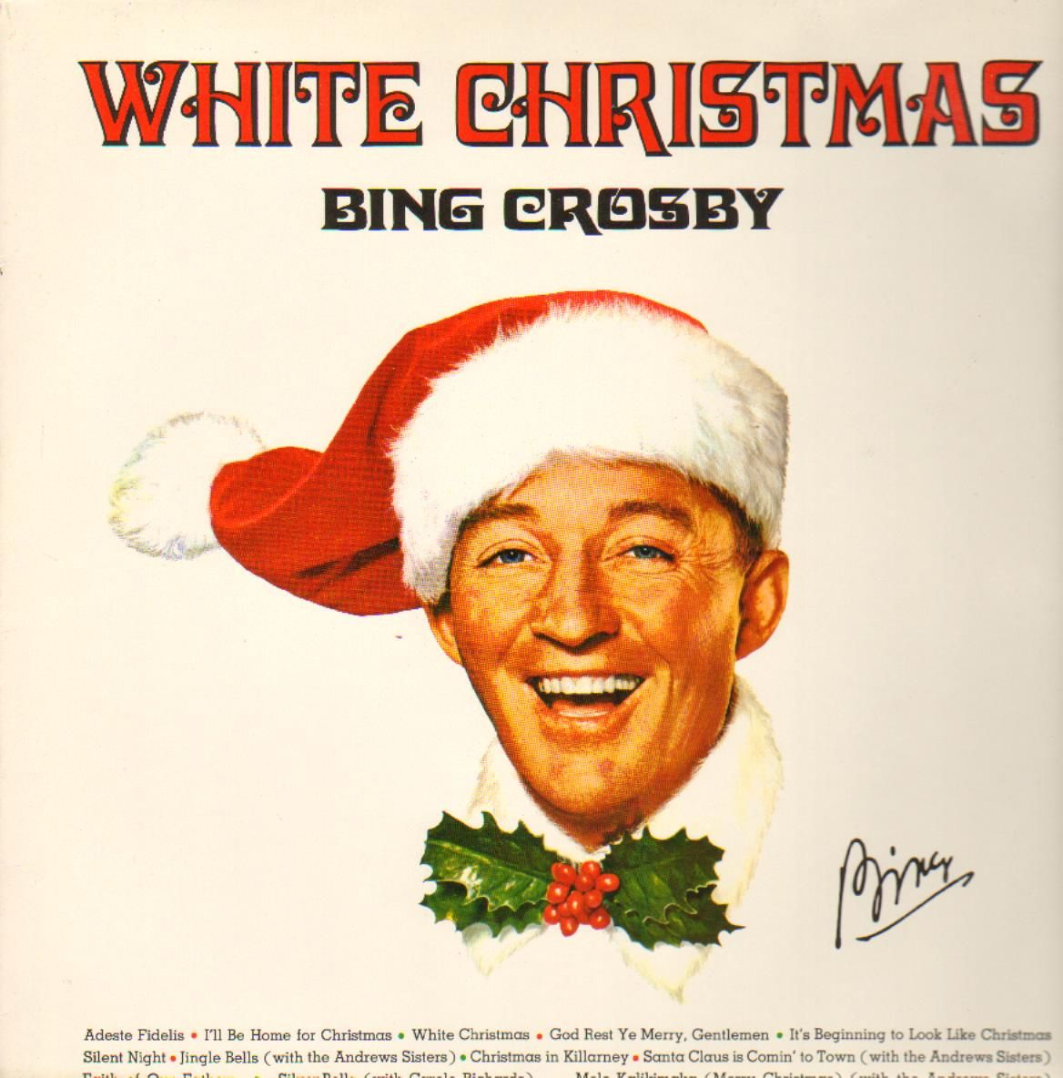 Christmas Album Cover Art.Album Cover Art Wednesday The Bing Crosby Christmas