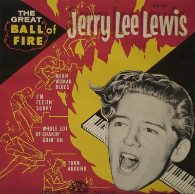 JERRY LEE LEWIS USA..1957 Sun..EPA-107