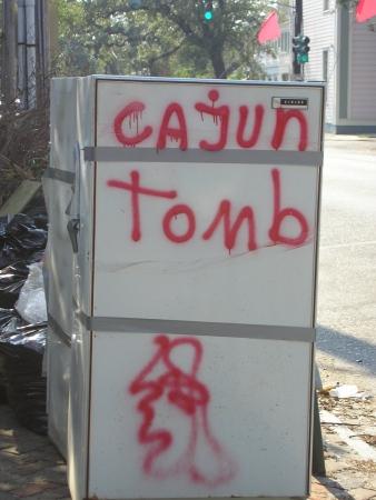 Cajun Tomb, 2005.