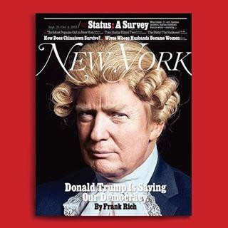 Trump NY Mag