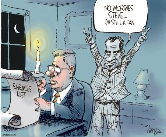 Cartoon by Patrick Corrigan.