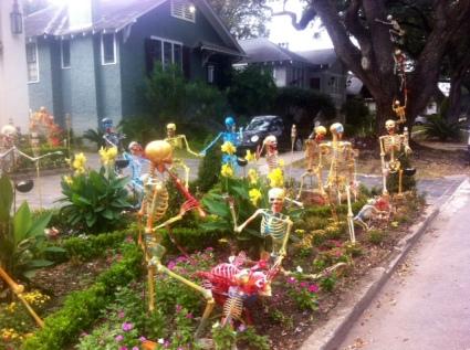 Skeleton Garden