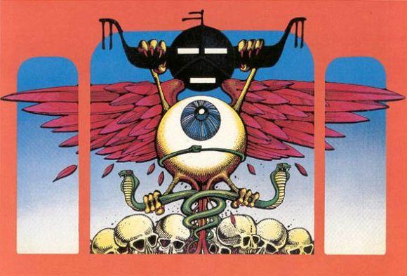 Rick Griffin Flying Eyeball