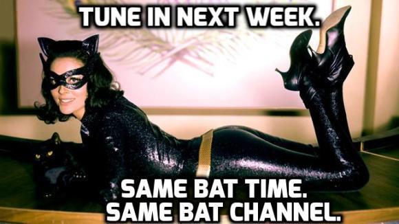 Lee M as Catwoman Meme