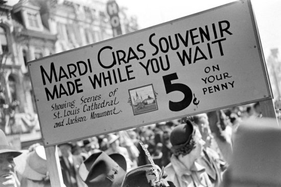 Mardi Gras in New Orleans, 1938 (11)