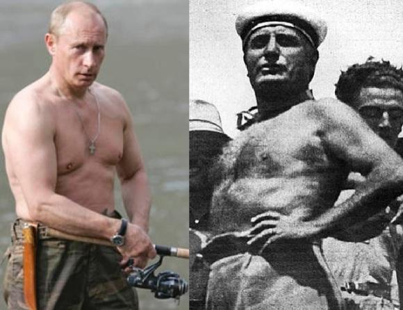 Putin-Mussolini
