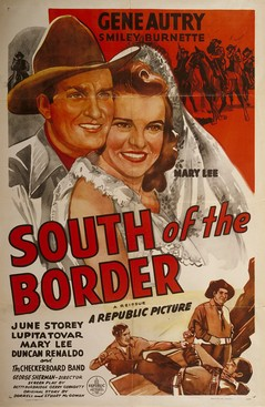 medium_South of the Border poster