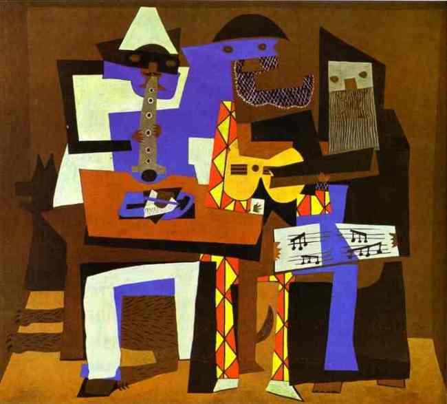 Picasso Three Musicians