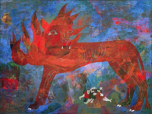 Allegory by Ben Shahn.