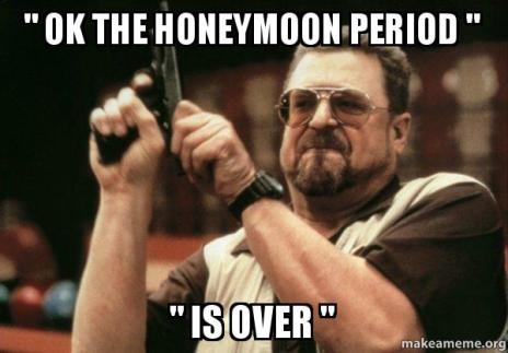 honeymoonisover