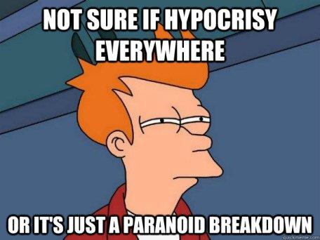fryhypocricy