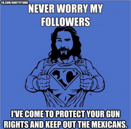 JesusGunNutMexicans