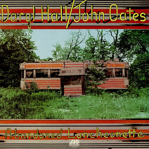Album Cover Art Wednesday: Abandoned Luncheonette