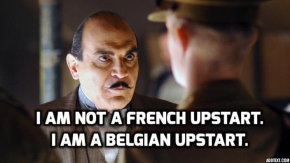 Poirot Meme