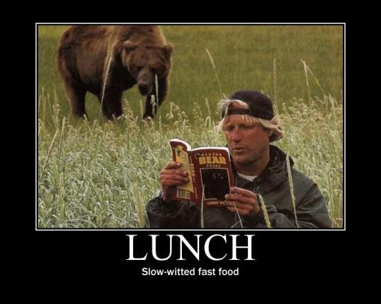 GrizzlyManLunch